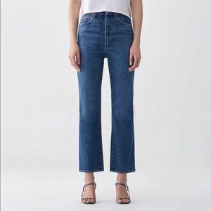 Agolde Pinch Waist High Rise Kick Jeans 30